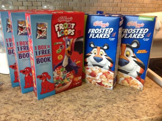 kellogg cereal